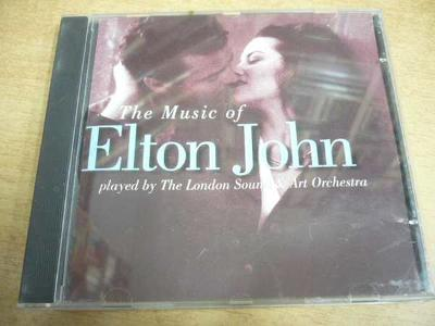 CD The Music of ELTON JOHN played by The London Sound & Art Orchestra