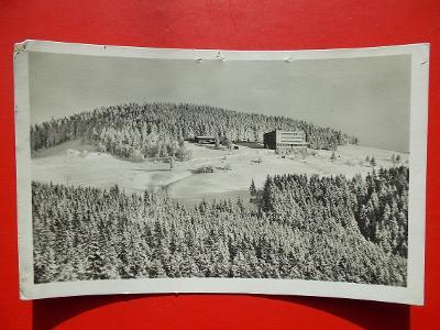 Beskydy Frýdek Místek Hotel KČT Bílý Kříž pošta Staré  Hamry