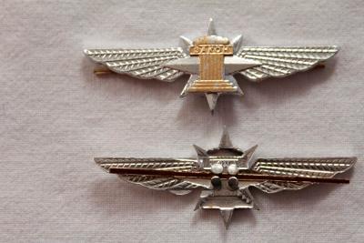 Odznak. Kokarda. Armáda. Policie. Rusko. kov. nové.