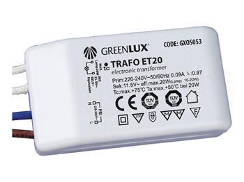 Elektronický transformátor 12V/20W pro bodová světla - Výprodej !!!