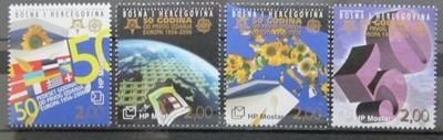 Bosna a Hercegovina 2006 Výročí Evropa CEPT Mi# 166-69 Kat 10€ 0528
