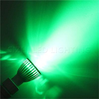 Žárovka LED GU10 - ZELENÁ