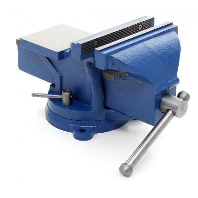 Svěrák dílenský 125 mm s kovadlinou - otočný 360 stupňů, svěrka KD1102