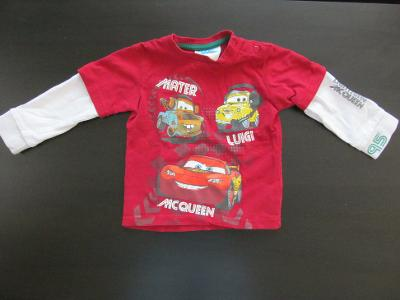 Dětské tričko C&A Disney Cars, vel. 86