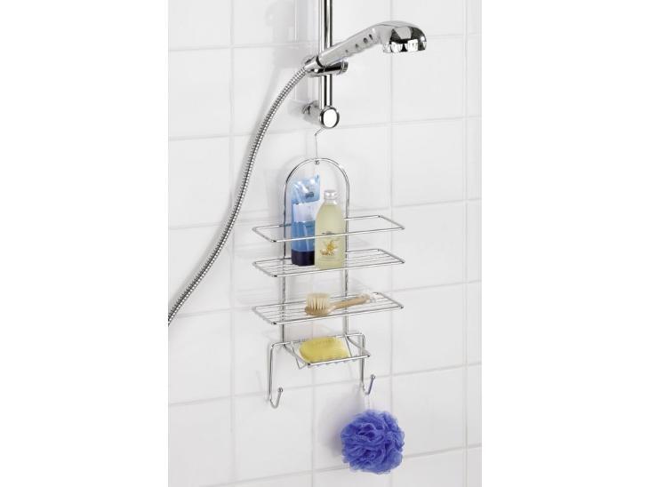 Věšák EXCLUSIVE, koupelnová police - Nábytek