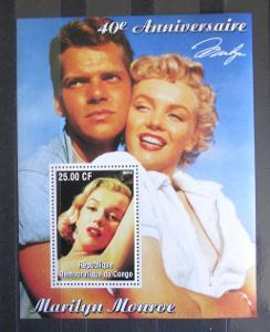 Kongo Dem. 2002 Marilyn Monroe Mi# N/N 1347