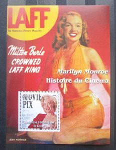 Kongo Dem. 2003 Marilyn Monroe Mi# N/N 1348