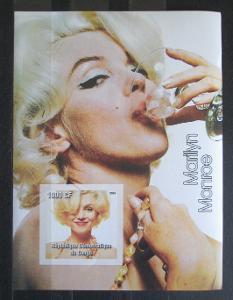 Kongo Dem. 2005 Marilyn Monroe neperf. Mi# N/N 1348