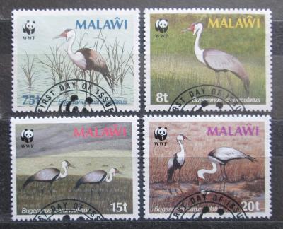 Malawi 1987 Jeřáb, WWF 047 Mi# 477-80 Kat 7.50€ 0550