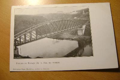 Rataje nad Sázavou-železniční most - tunel-1905