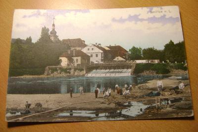 Smiřice nad Labem-okr. Hradec Králové-Jez--dobývaní hlíny cihelna