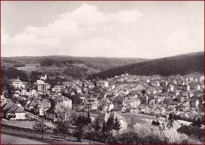 Lázně Luhačovice * celkový pohled na město * Zlín * V114
