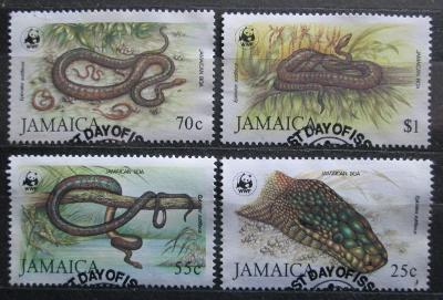 Jamajka 1984 Hadi, WWF 019 Mi# 591-94 Kat 70€ 1357