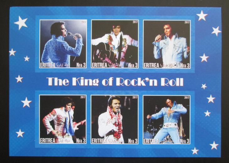 Eritrea 2017 Elvis Presley Mi# N/N 1359 - Filatelie