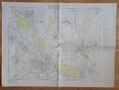Mapa ČSSR - Kroměříž 25-311 (1988)