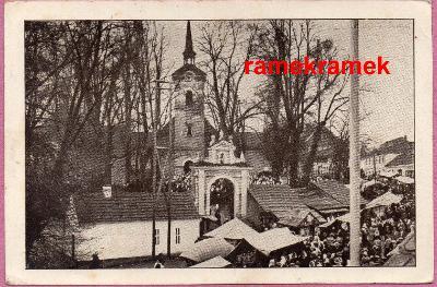 Římov pouť 1943 (České Budějovice Český Krumlov Trhové Sviny)