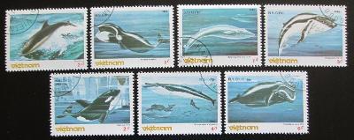 Vietnam 1985 Mořští savci Mi# 1626-32 1364