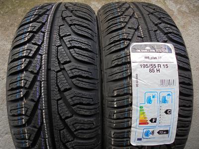 pneu 195 55 15 zimní Uniroyal MS plus 77 85H 2kusy NOVÉ