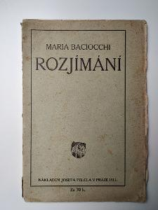 Rozjímání - Maria Bacciocchi