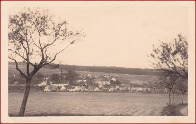 Letiny * celkový pohled na město * Plzeň jih * M078