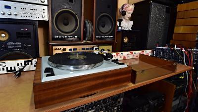 Supraphon NC 410 - první ČS HiFi gramofon - Tesla (177078)