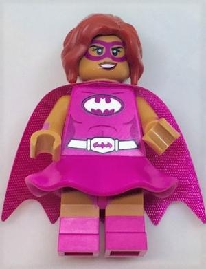 LEGO figurka sběratelská batman movie Pink Power Batgirl
