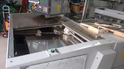 Prodám programovatelný  stroj na frézování v deskách  plošných spojů