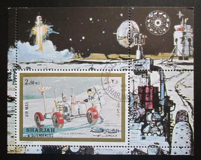 Šardžá 1972 Apollo 17 Mi# Block 111 A 1370