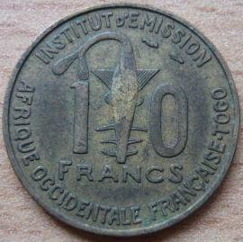 Togo 10 Francs