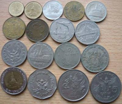 Thajsko 17 mincí z oběhu
