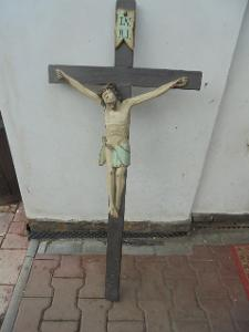 Starožitný velký kříž
