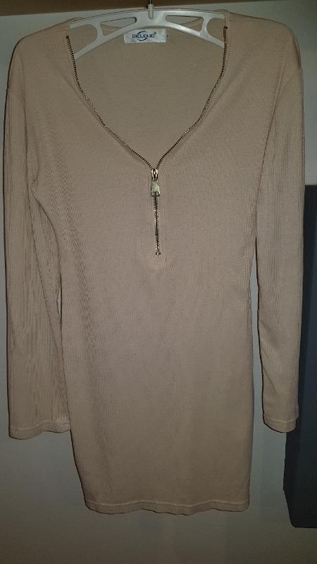 Delší Tunika Minišaty Velikost M - Dámské oblečení