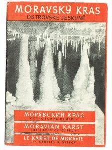 Ostrovské jeskyně, okr. Blansko