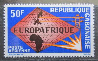 Gabon 1965 EUROPAFRIQUE Mi# 227 0583