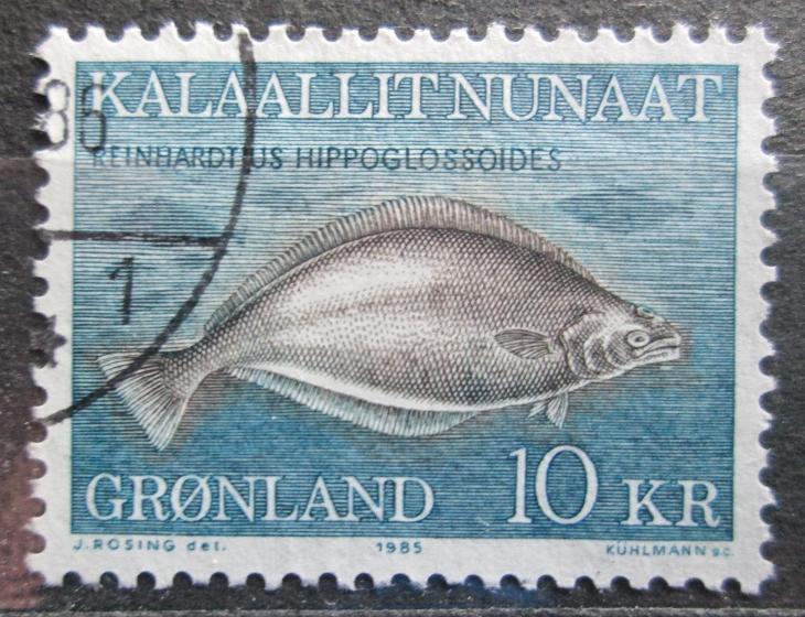 Grónsko 1985 Platýs Mi# 162 0592 - Filatelie