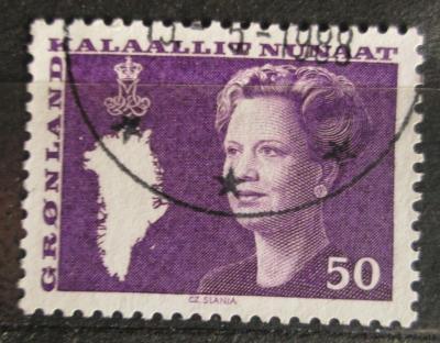 Grónsko 1981 Královna Markéta II. Mi# 126 0592