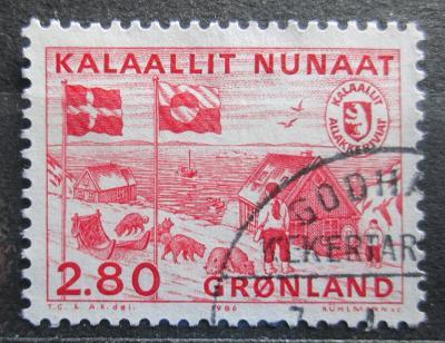 Grónsko 1986 Poštovní stanice Mi# 163 0593