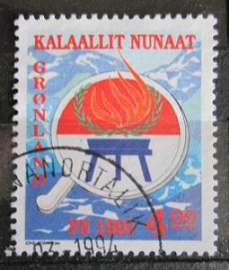 Grónsko 1993 Mezinárodní rok původních obyvatel Mi# 230 0593