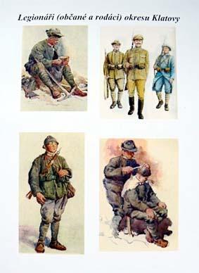 Legionáři (občané a rodáci) okresu Klatovy