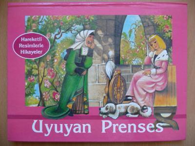 Uyuyan Prenses - ilustrace Vojtěch Kubašta - Aventinum 1992