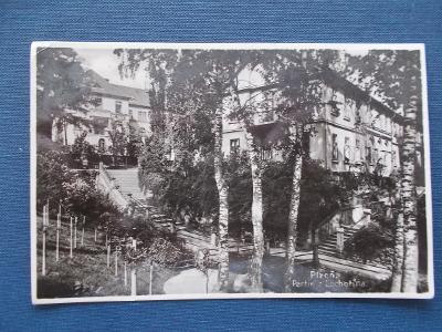 Plzeň Lochotin partie areál nemocnice