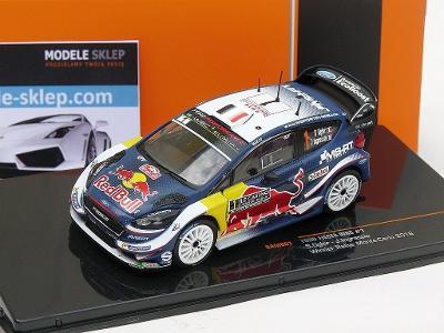 S.OGIER /INGRASSIA WINNER RALLY MONTE CARLO 2018 FORD FIESTA WRC IXO 1