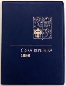 KOMPLETNÍ ROČNÍKOVÉ ALBUM 1996 - ZN., A + ČERNOTISK PTR 4 (T7272)