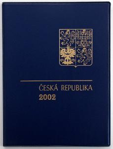 KOMPLETNÍ ROČNÍKOVÉ ALBUM 2002 - ZN., A + ČERNOTISK PTR 10 (T7278)