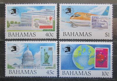 Bahamy 1989 EXPO Washington Mi# 710-13 Kat 12€ 0622