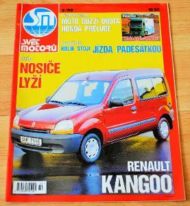 TATRA 603, 613, 700 / FORD ESCORT - ČASOPIS SVĚT MOTORŮ S ČLÁNKEM 1998