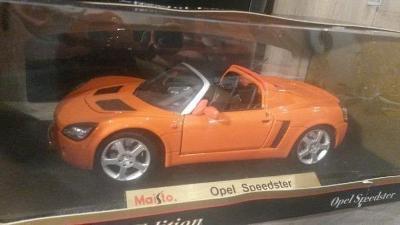 .Opel Speedster 1:18 Maisto
