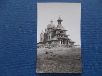 Vsetín Rožnov Pustevny na Radhošti kaple rozhledna razítko  Lochman