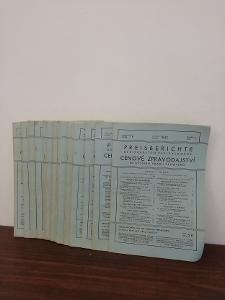1943   roč. IV - Cenové zpravodajství nejv. úřadu cenového