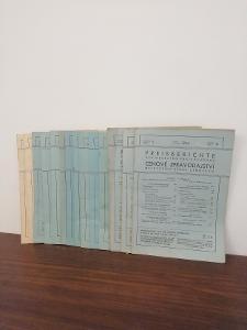 1944   roč. V - Cenové zpravodajství nejv. úřadu cenového